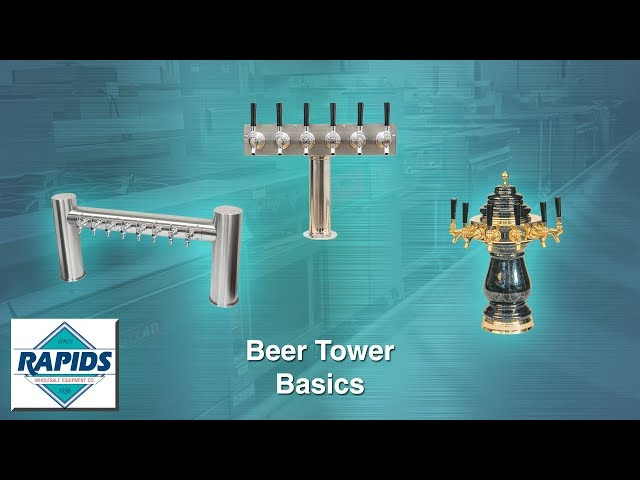 Basics of Draft Beer Towers with Ben at Rapids Wholesale