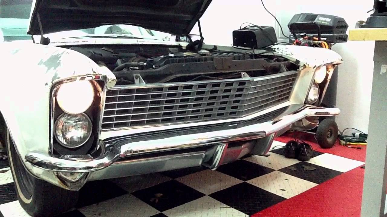 1965 Buick Riviera Clamshell Headlights Youtube Wiring Diagram