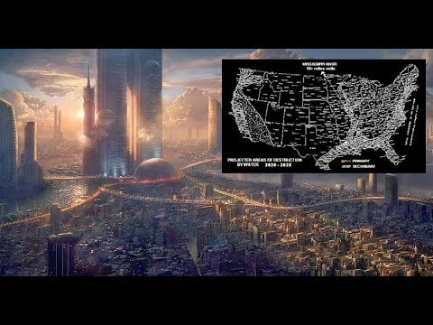 Time Traveler Reveals Map Of The U.S. After Major Catastrophes (2020-2025)