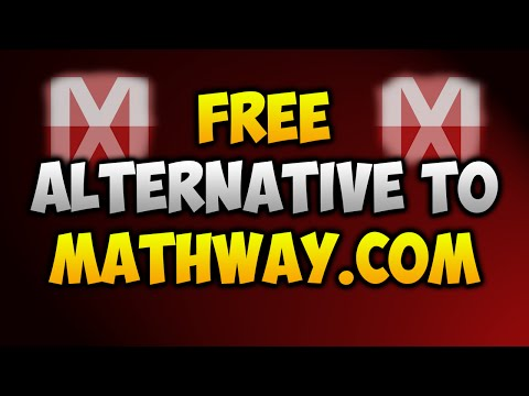 FREE ALTERNATIVE TO MATHWAY.COM ✏️ (Free Mathway Premium) on
