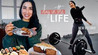 DAY IN THE LIFE: My Meals, Workouts & New Goals (2021)