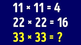 簡単な数学クイズにチャレンジしよう!