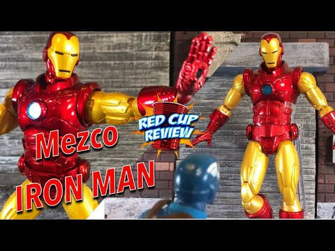 Mezco Iron Man Review One 12 Collective