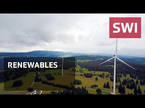 Swiss wind power at a standstill