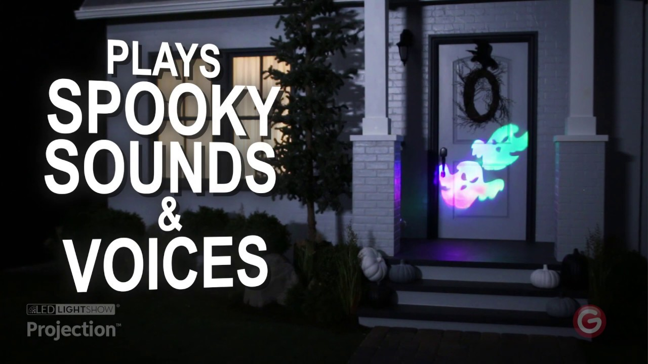 Lightshow Specter Gemmy Outdoor Animated Halloween Projector 6 Slides New