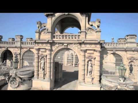 chateau de chantilly octocopter