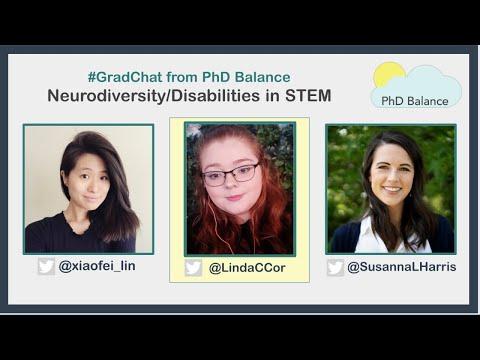 Neurodiversity/Disabilities in STEM ~ Grad Chat w/ Linda Corcoran
