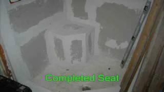 Hand Made Shower Seat By Mz-handyman