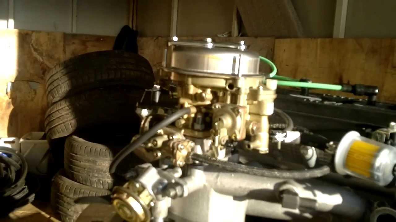 схема подключения карбюратора 406 двигатель на газель