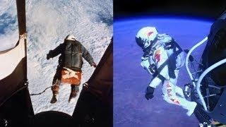 The Red The White and The Blue - The Balloonist (Joseph Kittinger 1960 vs Felix Baumgartner 2012)