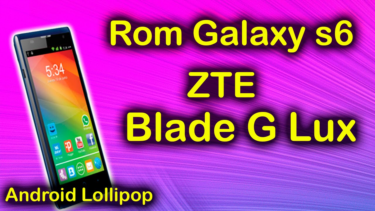 run zte blade s6 rom probably not for