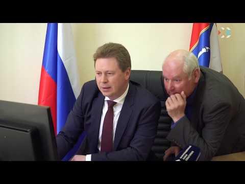 Губернатор Севастополя Дмитрий Овсянников провёл личный приём граждан