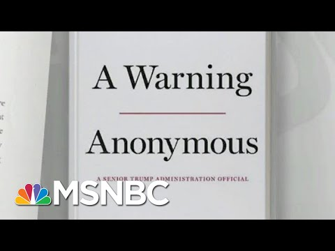 Author's 'Warning' Raises Question Of Trump Staff Responsibility | Rachel Maddow | MSNBC