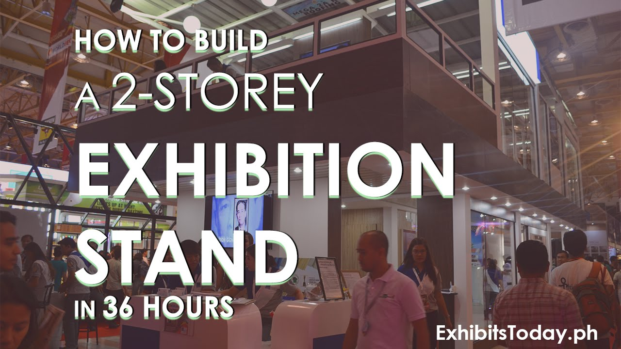 Exhibition Stand Design And Build : How to build a storey exhibition stand in hrs youtube
