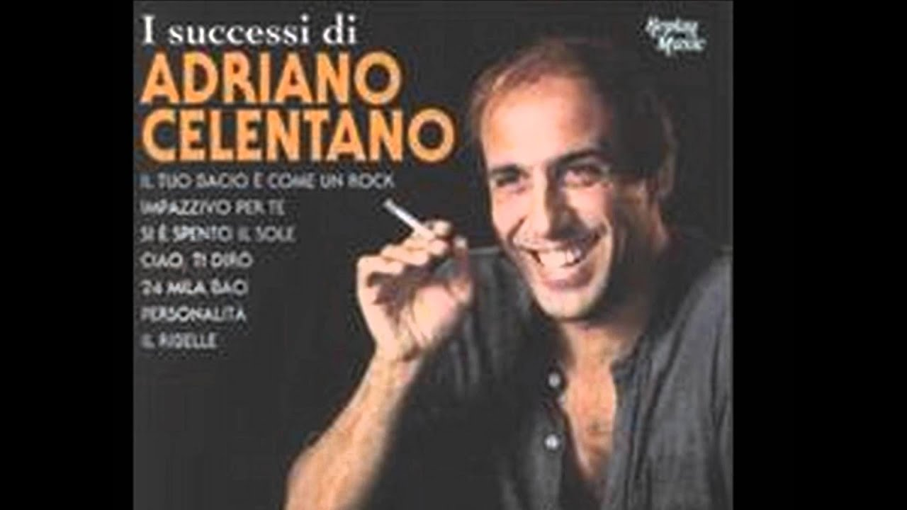 adriano celentano personality youtube. Black Bedroom Furniture Sets. Home Design Ideas