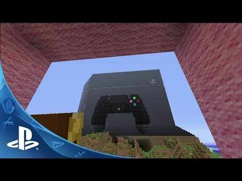 Minecraft Announcement Trailer | E3 2014 | PS4