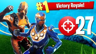 THIS DUO IS UNSTOPPABLE!!! (Fortnite Battle Royale Duos Squads Win Gameplay)