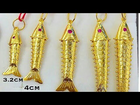 Gold Fish Lockets Collection