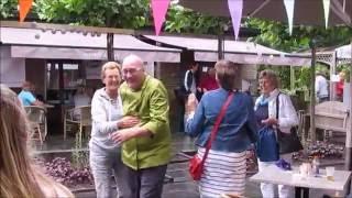Camping Rijsterbos, patatbakken voor de MS Stichting