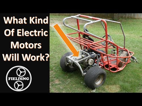 What Electric Motors Can Be Used In A Go Kart or E Bike; Bench Testing and Recommended Sizing #61
