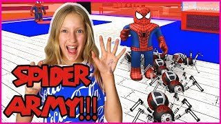 Creating My SPIDER ARMY!
