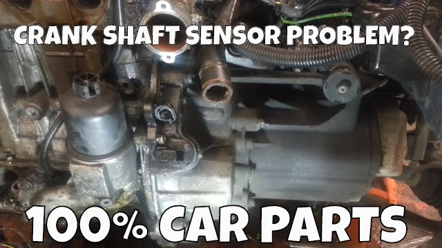 How to Change Replace Crank Shaft Position Sensor Peugeot 206