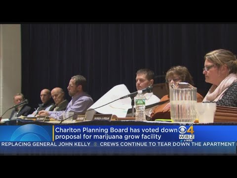Charlton Planning Board Rejects Proposed Marijuana Grow Facility