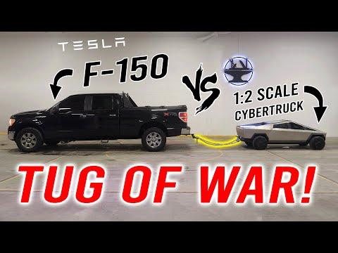 1:2 Tesla Cybertruck VS Ford F-150 (Part 5/5: THE BIG TEST!)