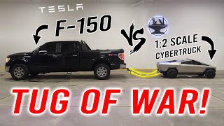 1:2 Tesla Cybertruck VS Ford F-150 (Part 5/5: THE BIG TEST!)