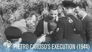 Execution of Pietro Caruso - Italian chief of fascist police