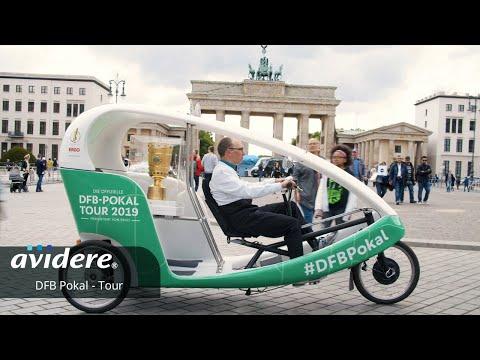 Die DFB-Pokal-Tour Begleitung des DFB-Pokals durch die Straßen Berlins