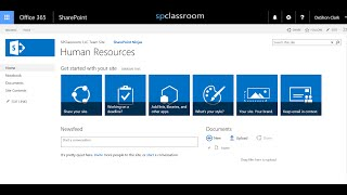 Lesson 04: SharePoint 2013 Basics, Content Types Pt. 1 of 4