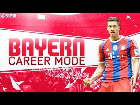 FIFA 16 Bayern Munich Career Mode - End of Season Squad Report - S1E18