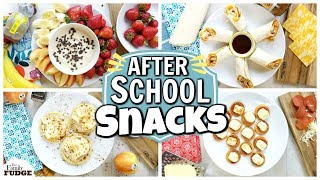 QUICK and EASY After School Snacks 🍌🍓🧀🍎🍽️
