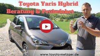 Toyota Yaris Hybrid im Test - Beratung und Probefahrt - Deutsch