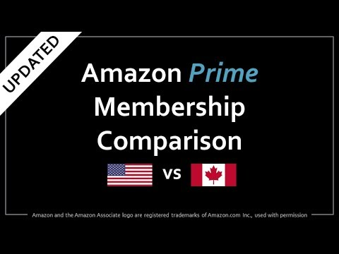 Amazon Prime US vs Canada Comparison (Updated)