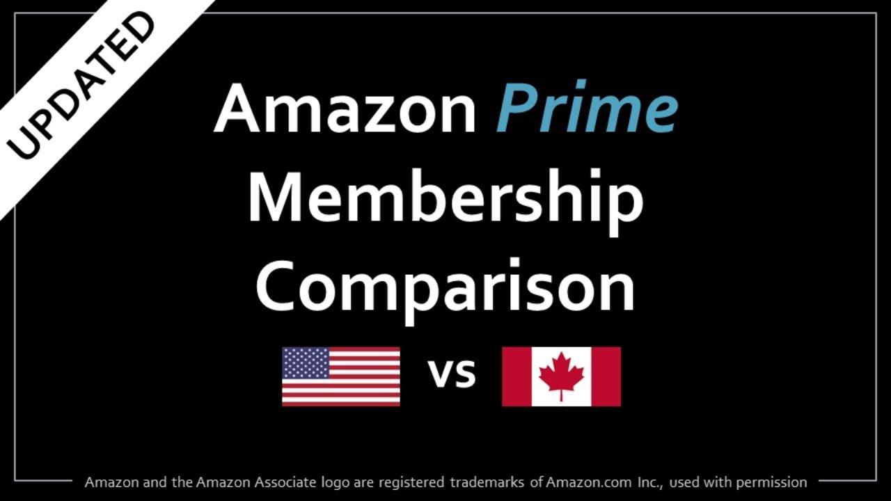 Amazon Prime US vs Canada Comparison (Updated)