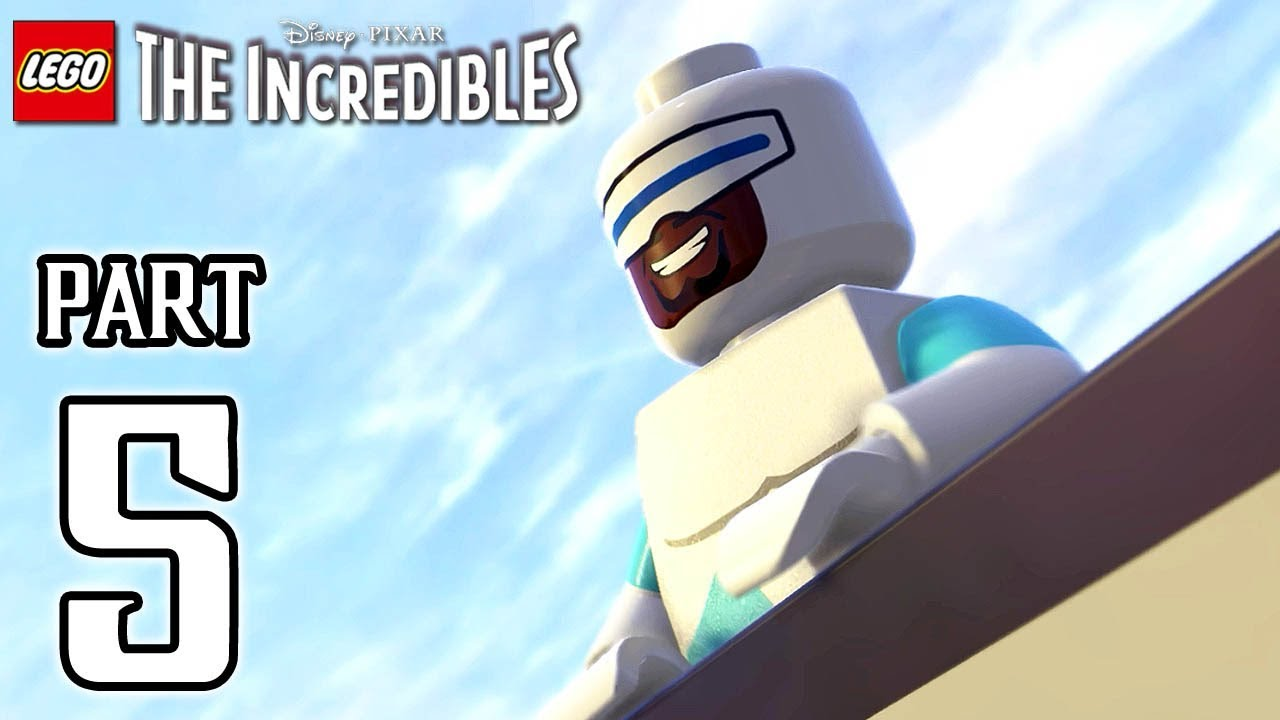 LEGO The Incredibles Walkthrough PART 5 (PS4 Pro) No Commentary @ 1080p HD ✔