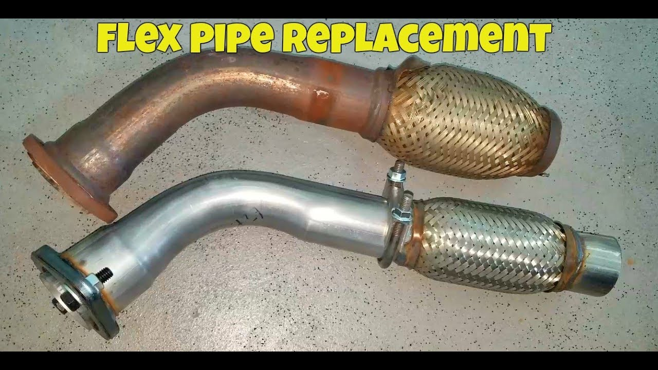 Camry Flex Pipe Replacement & Camry Flex Pipe Replacement - YouTube