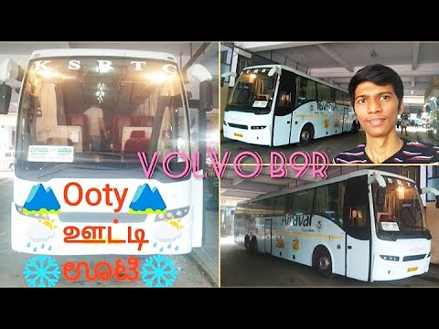 KSRTC Airavat Volvo B9r🚌 | 🌁Bangalore-Ooty⛰️ | Full Bus Review | Bus Vlog | Naveen Kumar