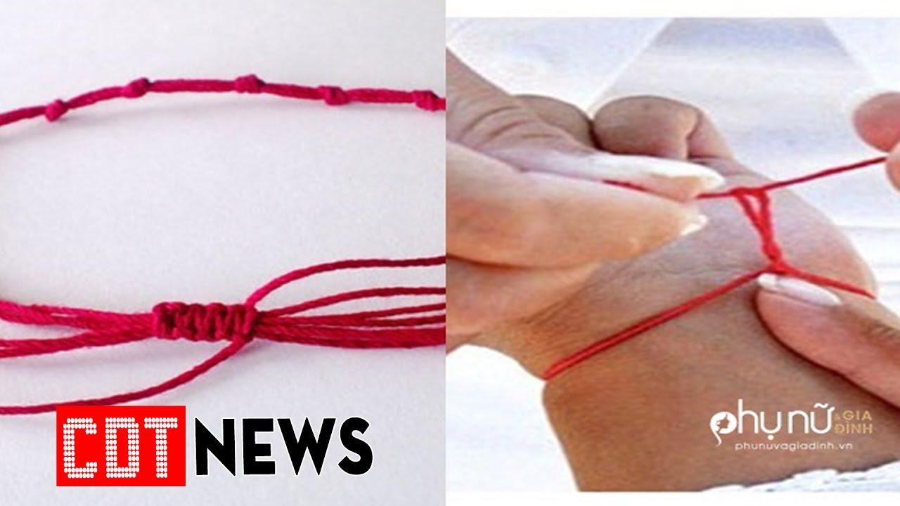 Đây là lí do bạn nên đeo 1 sợi chỉ đỏ trên cổ tay   CDT NEWS