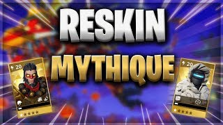 RESKIN MYTHICAL BOUTIQUE - FORTNITE SAUVER THE WORLD
