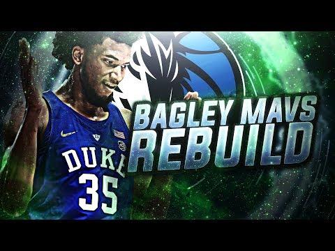 TANKATHON! MARVIN BAGLEY DALLAS MAVERICKS REBUILD!! NBA 2K18