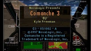 COMANCHE 3 (PC/DOS) Training missions, 1997, Novalogic Inc
