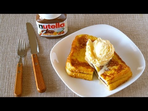 How to Make Nutella Sandwich French Toast (Recipe) ヌテラサンドイッチ フレンチトースト (レシピ)