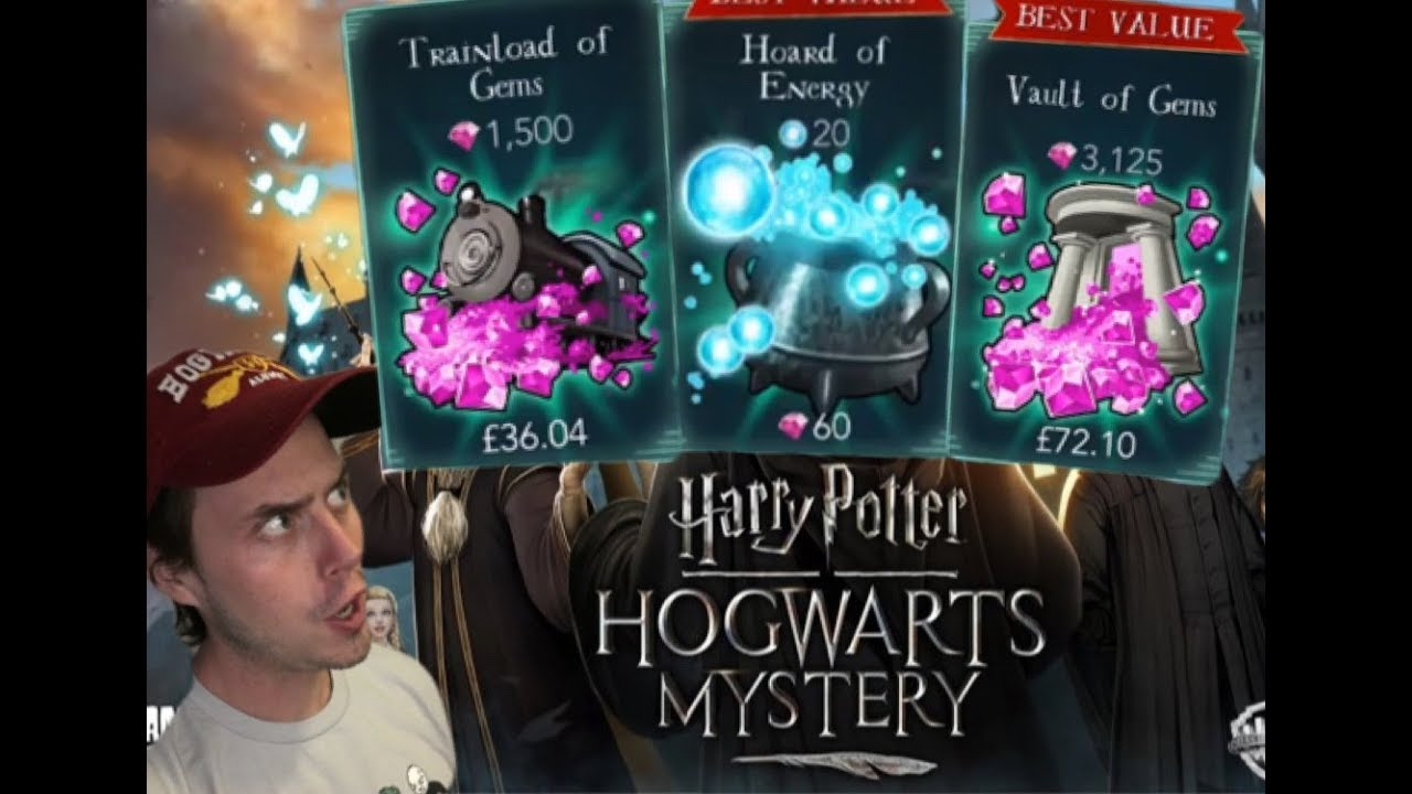 Harry Potter: Hogwarts Mystery- Coins, Energy, and Gems