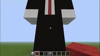 Speed art slenderman en minecraft