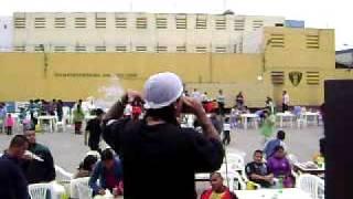 Rey Chesta  y  dj prax  ( callao cartel corona)  frestyle en la carcel penal sarita colonia