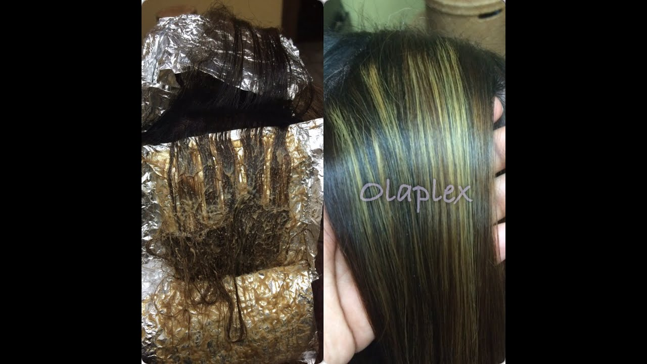 Using Olaplex For Foil Highlights Amp Lowlights The