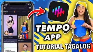 TEMPO APP   HOW TO USE TEMPO APP   PAANO GAMITIN ANG TEMPO APP   ANDROID & IOS TIKTOK TEMPO APP EDIT screenshot 3